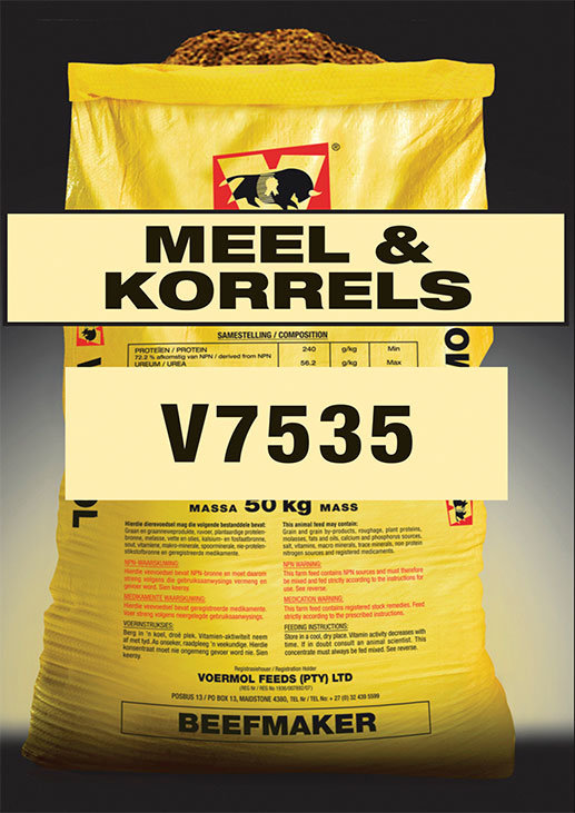 Voermol Beefmaker Pellets & Meal