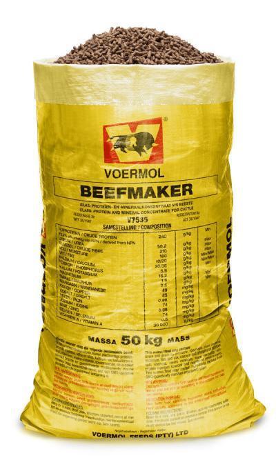 Beefmaker Pellets & Meal